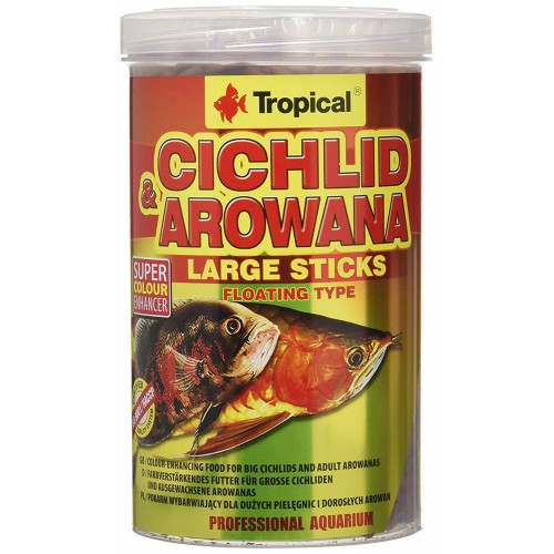 Tropical Cichlid&Arowana Large Sticks 250ml