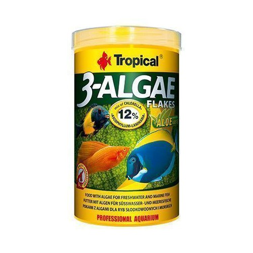 Tropical 3-Algae Flakes 250ml