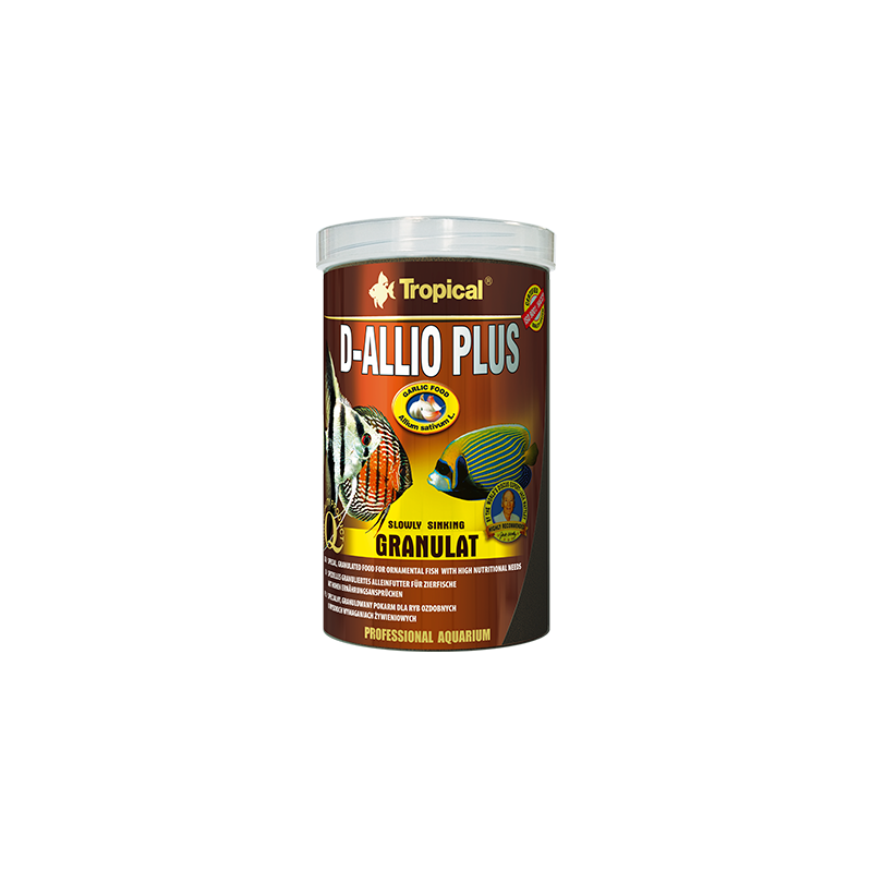 Tropical D-Allio plus Granulat 250ml