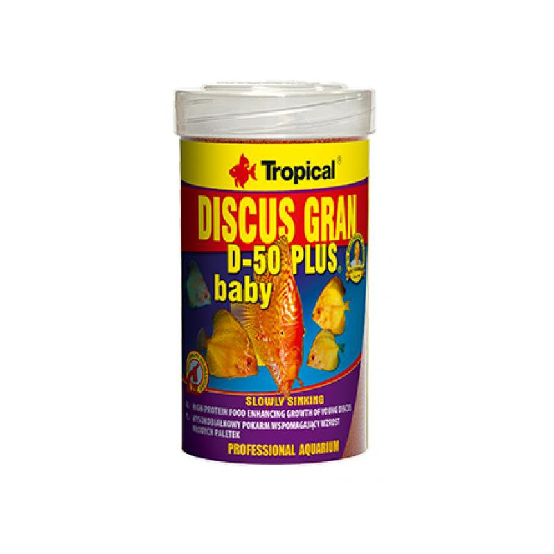 Tropical Discus Gran D-50 Plus Baby 250ml