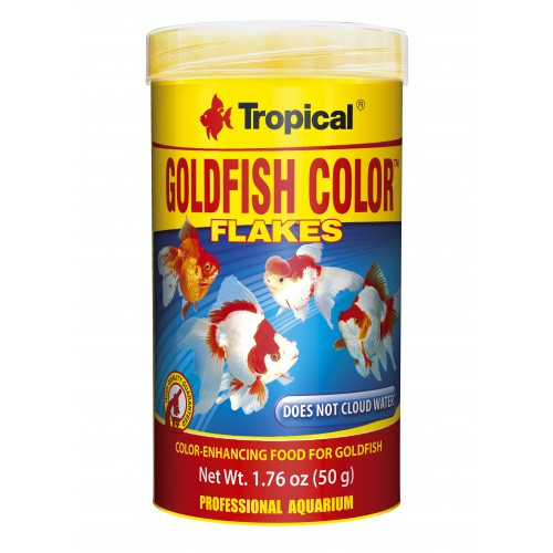 Tropical Goldfish Color Flakes 250ml