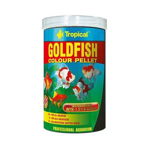 Tropical Goldfish Color Pellet 250ml