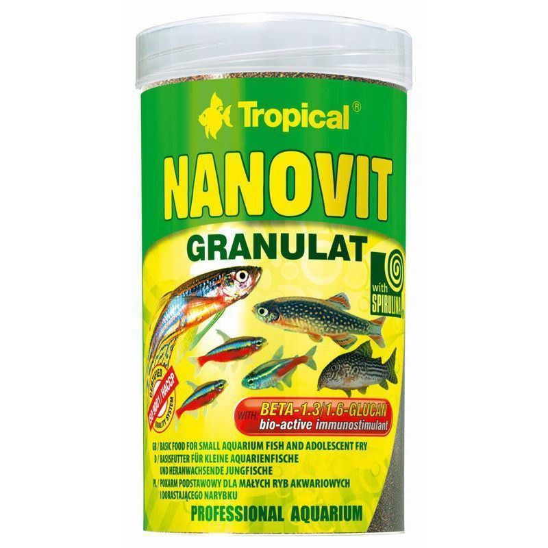Tropical Nanovit Granulat 100ml