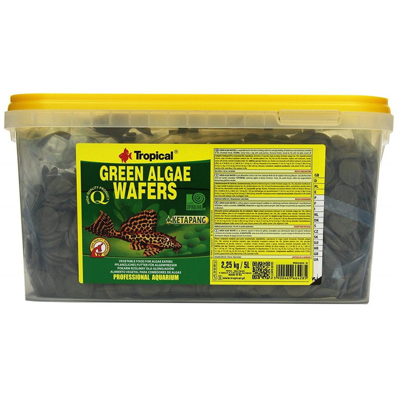 Tropical Green Algae Wafers 5l