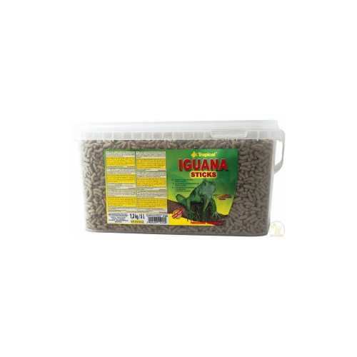 Tropical Iguana Sticks 5l