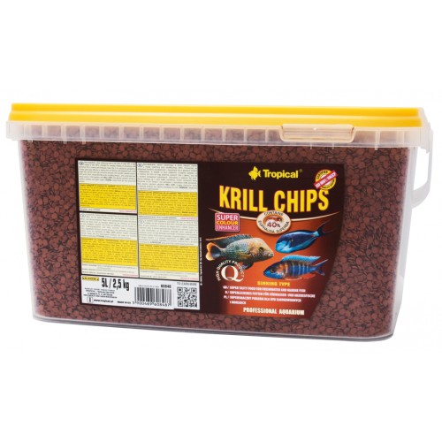 Tropical Krill Chips 5l/2.5Kg