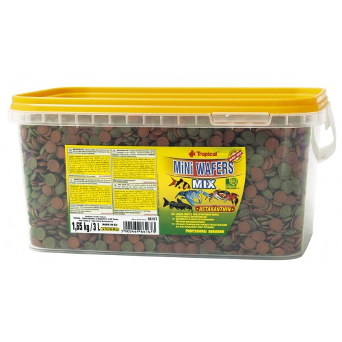 Tropical Mini Wafers Mix 3l/1.65Kg