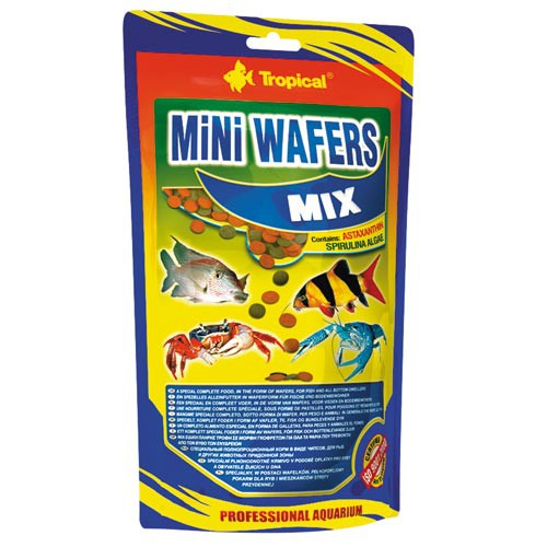Tropical Mini Wafers Mix 500g