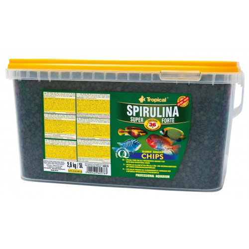 Tropical Spirulina Super Forte Chips 5l