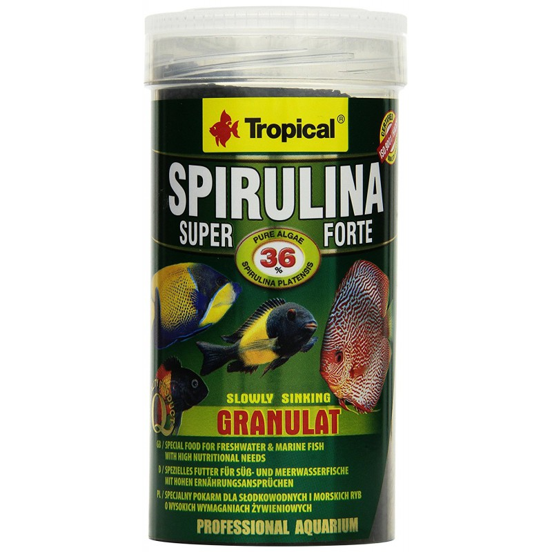 Tropical Super Spirulina  Forte Granulat 1000ml