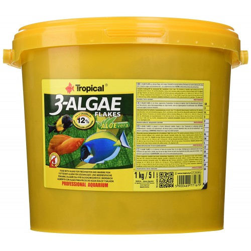 Tropical 3-Algae Flakes 5l/1Kg
